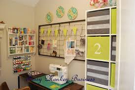 fussy monkey business craft room makeover