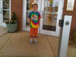 five huitsings wacky tacky day at ges
