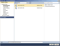 generating sql server test data with visual studio 2010