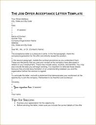 job offer acceptance letters tips examples job offer letter