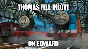 Thomas The Tank Engine Meme - thomas the gay tank engine meme by kiaradgpaws on deviantart
