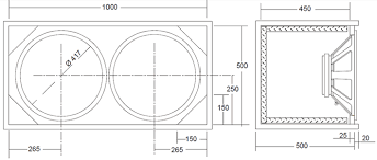 guitar speaker cabinet design ciare 18 75 w 18 400 watt 8ohm pa loudspeaker