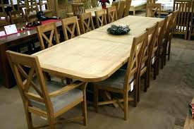 dining room table for 12 excellent dining room tables that seat 12 foter intended for table