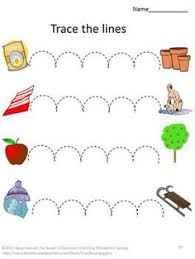 tracing lines preschool worksheets google search tracing