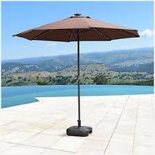 patio umbrella with solar led lights patio umbrella with solar led lights supernova 9 ft solar led