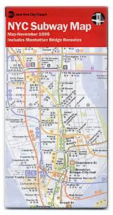 Nyc Traffic Map 15 Subway Maps That Trace Nyc U0027s Transit History