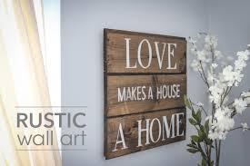 diy rustic interest rustic wall art home decor ideas