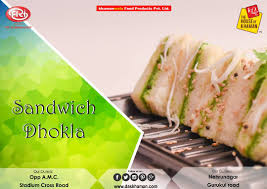 cuisine define no words to define the spicy taste of sandwich dhokla a fusion