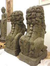 lion foo dog 4ft size foo dog guardian lion sculptures carved