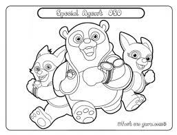 printable disney junior special agent oso coloring pages