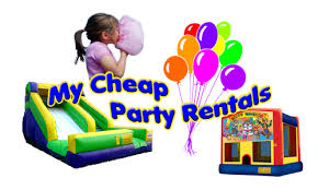 my cheap party rentals