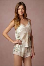 honeymoon sleepwear bhldn whispering blooms cami shorts set in bridesmaids