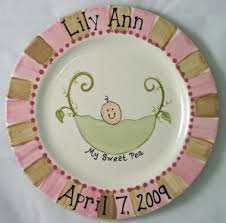 painted platters personalized 62 best birthdays baby images on painted pottery