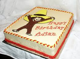 curious george birthday cake curious george cake bakery