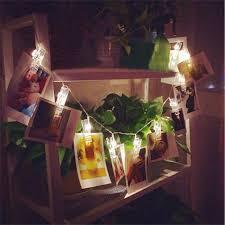 aliexpress com buy led christmas card photo clip string light 2m