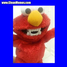 Elmo Meme - elmo teeth clean memes the best the most online