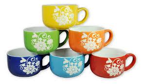 ceramic coffee mug set the coffee table