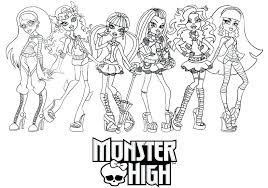 Coloriage Monster High A Imprimer  Coloring Ideas