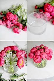 peony arrangement diy flower arrangement peonies 3 ways floral arrangement peony