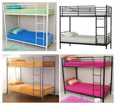 China Factory Cheap Heavy Duty Metal Strong Dormitory Military - Heavy duty metal bunk beds
