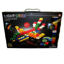 light stax power base light stax illuminated blocks 102 piece set timbuk toys