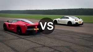 nissan gtr vs laferrari vs nissan gtr drag race draginfo