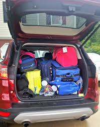 Ford Escape Trunk Space - can this family successfully road trip in a crossover she