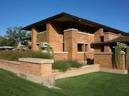 100 frank lloyd wright inspired house plans prairie style