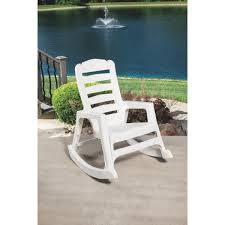 Resin Rocking Chair Adams Big Easy Stacking Rocking Chair 8080 48 3700 Do It Best