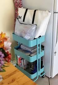 my craft room ikea raskog cart home corners pinterest