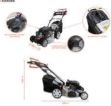 New Black Eagle 20 U201d Lawn Mower 200cc 4 Stroke Self Propelled