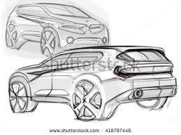 car sketch design stock illustration 418787446 shutterstock