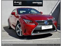 lexus rc 300h precio lexus rc 2 5 rc azul eléctrico mica con 15000km del 2016 en madrid