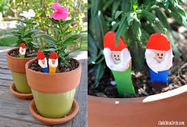 Gardening Craft Ideas Garden Gnome Craft Sticks Diy Skip To My Lou