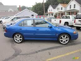 blue 2007 nissan sentra sapphire blue metallic 2006 nissan sentra se r spec v exterior