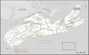 Map Of Nova Scotia Proposed Boundaries U2013 Nova Scotia Redistribution Federal