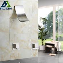 popular rozin waterfall shower faucet buy cheap rozin waterfall