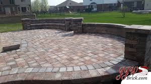 Paver Patios Installed In The New Paver Patio Installation In Macomb Mi 48042