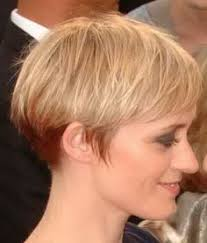 side view of blended wedge haircut stylish wedge haircuts for short hair similar to the inverted