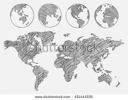 world map image drawing world map drawing stock images royalty free images vectors