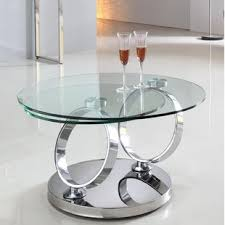 power of books sculptural glass topped side table round coffee tables wayfair co uk