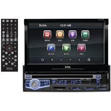 Car Audio Decks Boss Audio Bv9973 7 Inch Motorized Touchscreen Dvd Cd Usb Sd Mp4