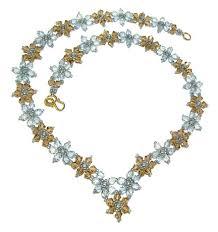crystal necklace patterns images Crystal flower necklace jpg