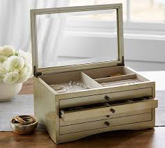 Pottery Barn Jewelry Stand Andover Jewelry Box Pottery Barn