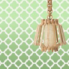 Home Decor Wall Stencils Stencil Boss Mia Quarterfoil Clover Moroccan Allover Pattern