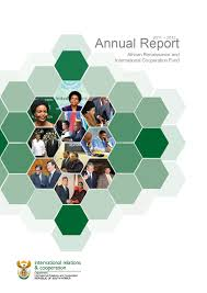 Report Cover Page Templates by Dirco Annual Reports