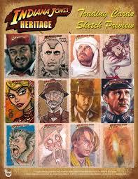 indiana jones heritage trading cards