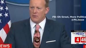 Tie Meme - sean spicer s green tie gets a hilarious meme what s trending
