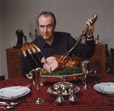 wes craven on happy thanksgiving gobble gobble http