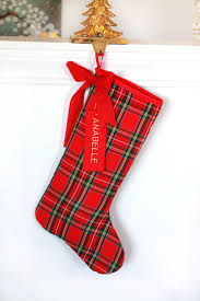 pinterest u0027teki 25 u0027den fazla en iyi plaid christmas stockings fikri